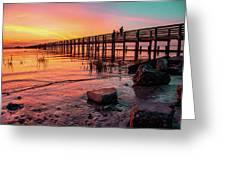 Dunedin Pier Greeting Card