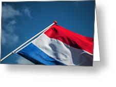 Dutch Flag Greeting Card