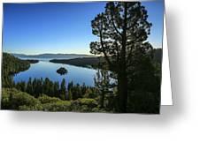 Early Morning Emerald Bay Greeting Card