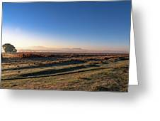Early Morning Sunrise In Clarens Greeting Card