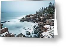 East Coast Winters Greeting Card
