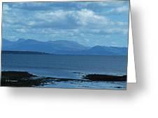East Shores Of Isle Of Skye Greeting Card