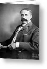 Edward Elgar Studio Portrait Greeting Card