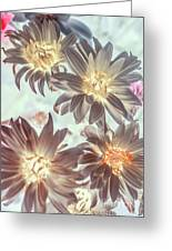 Electric Beauty Greeting Card