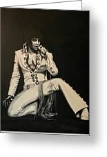 Elvis 1970 - Concho Suit Greeting Card