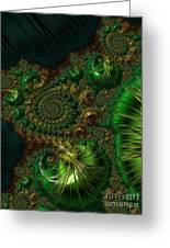 Emerald City. Greeting Card