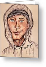 Eminem  Marshall Mathers Greeting Card
