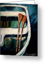 Empty Boat Greeting Card