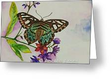 Enchanting Butterfly Greeting Card