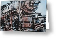 Engine #25 Greeting Card