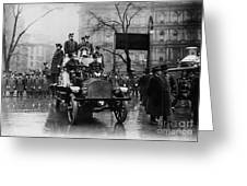 Engine 91 Fdny 1910 Greeting Card