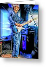 Eric Clapton Slowhand Greeting Card
