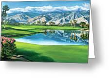 Escena Golf Club Greeting Card