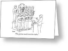 Even Less Tuba Greeting Card