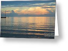 Evening Light Over Kaneohe Bay Greeting Card by Charmian Vistaunet
