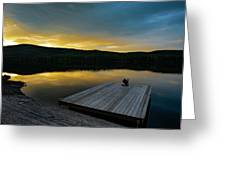 Evening Stillness Greeting Card