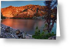 Everson Lake Greeting Card