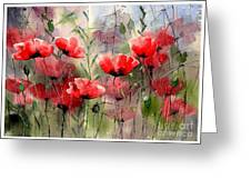 Everything About Poppies Greeting Card