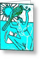 Evolution Of Birds Poster 13 Greeting Card
