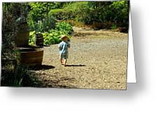 Explore, Edgefield Garden Greeting Card