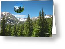 Eye On Summit County Greeting Card