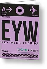 Eyw Key West Luggage Tag I Greeting Card