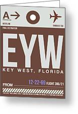 Eyw Key West Luggage Tag II Greeting Card