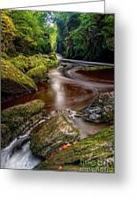 Fairy Glen Gorge Greeting Card