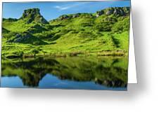 Fairy Glen, Isle Of Skye Greeting Card