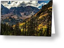 Fall At Maroon Bells Greeting Card