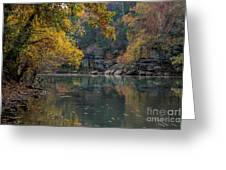 Fall In Arkansas Greeting Card