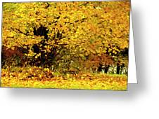 Fall To Grace Greeting Card