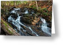 Falling Waters In October Greeting Card