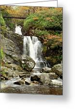 Falls At Inversnaid In Autumn Greeting Card