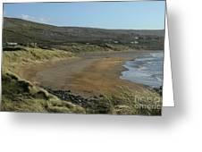 Fanore Beach The Burren Greeting Card
