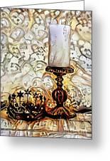Fantasy Candle Greeting Card