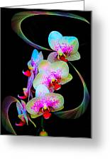 Fantasy Orchids In Full Color Greeting Card