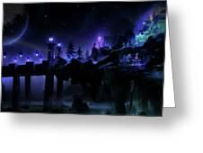 Fantasy Scene Greeting Card
