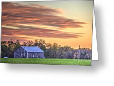 Farm From Beyond 2 Greeting Card