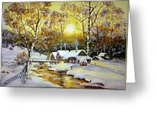 Feerie Winter Greeting Card