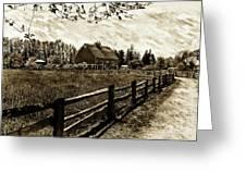 Ferndale Barn Greeting Card