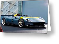 Ferrari Monza Sp1 Greeting Card