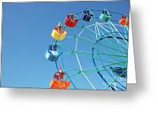 Ferris In Spring Park Greeting Card
