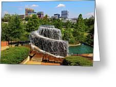 Finlay Park Columbia South Carolina Greeting Card