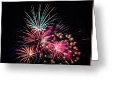 Fireworks 2019 One Greeting Card