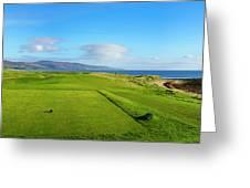 First Tee At Brora Golf Club, Moray Greeting Card