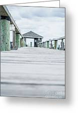 Fishing Dock Cape Cod Greeting Card