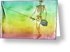 Fishing Man Greeting Card
