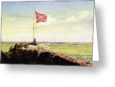 Flag Of Fort Sumter Greeting Card