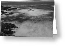 Flat Water Surface Greeting Card